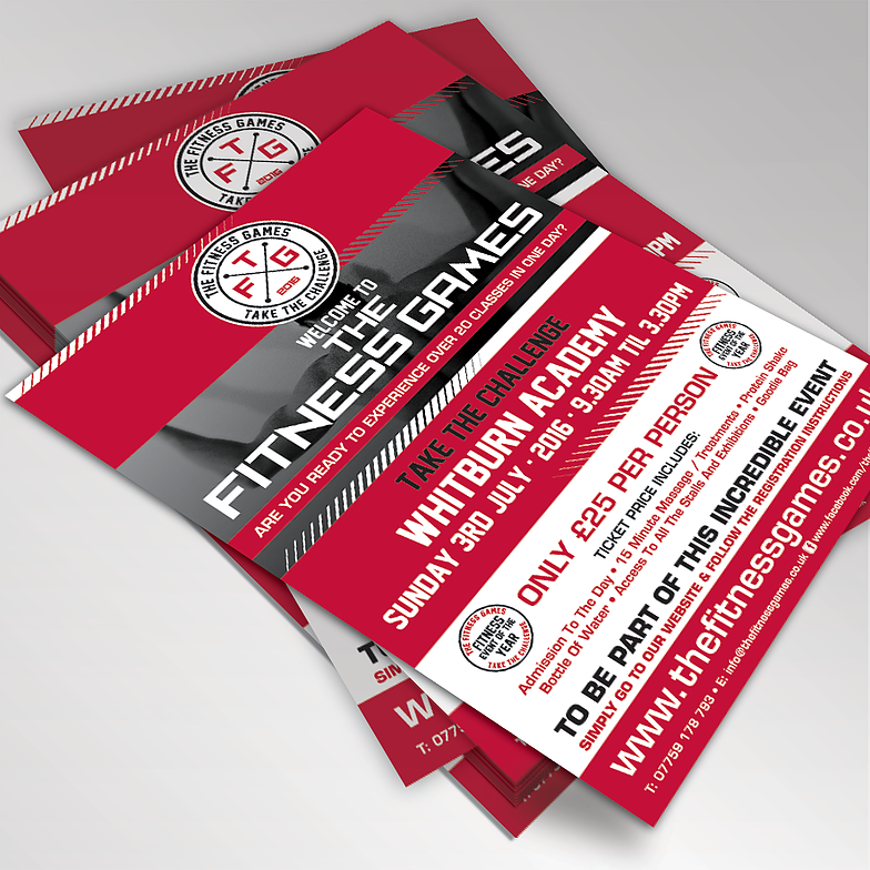Budget A5 flyer printing