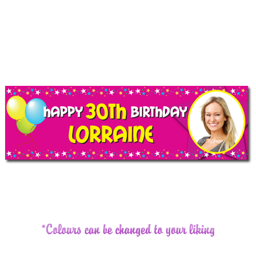 Any Occasion Personalised Banner - Style 1