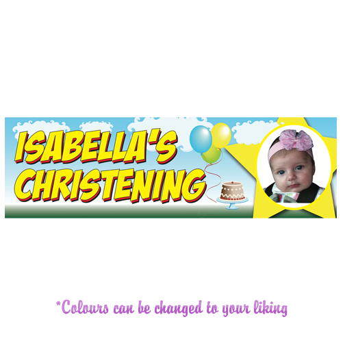 Any Occasion Personalised Banner - Style 2