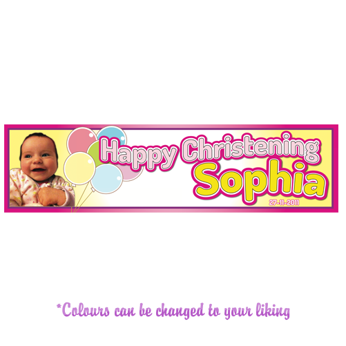 Any Occasion Personalised Banner - Style 4