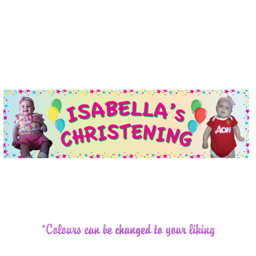 Any Occasion Personalised Banner - Style 5