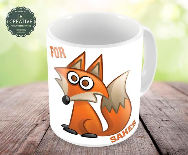 For Fox Sakes mug