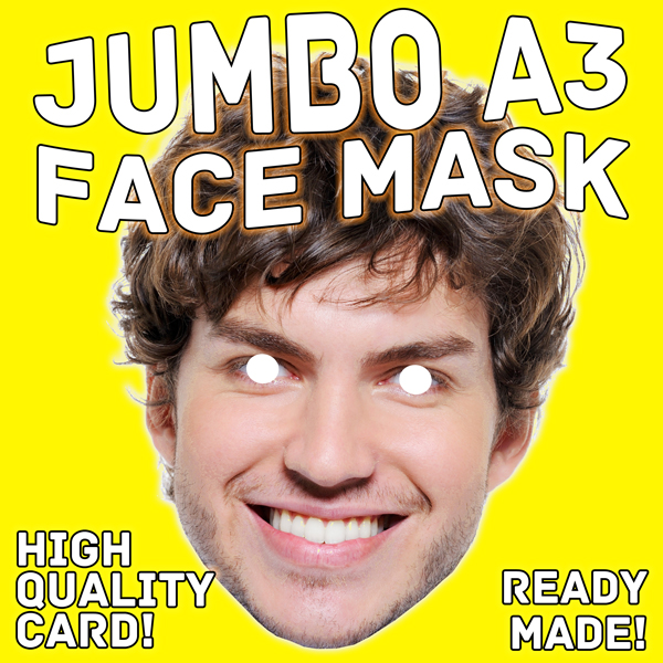 Jumbo A3 size face mask