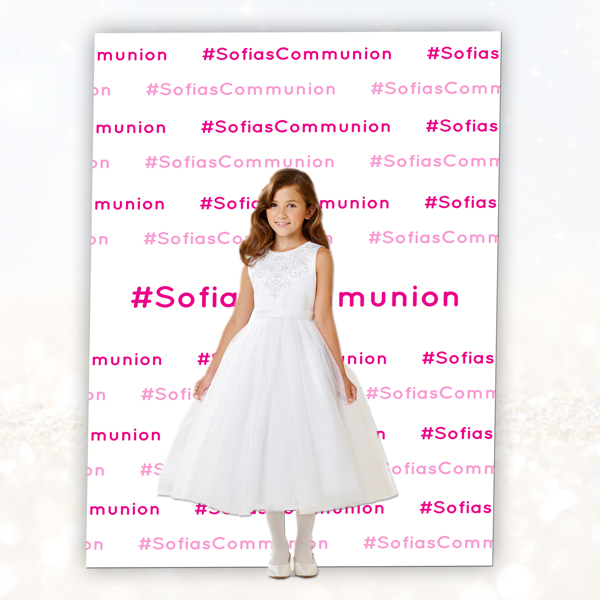 Communion - confirmation backdrop