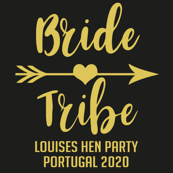 Hens party tshirt - Bride tribe
