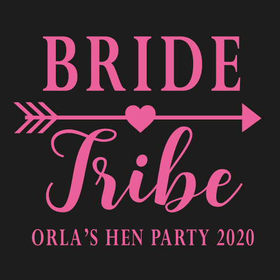 Hens party tshirt - Bride Tribe 2