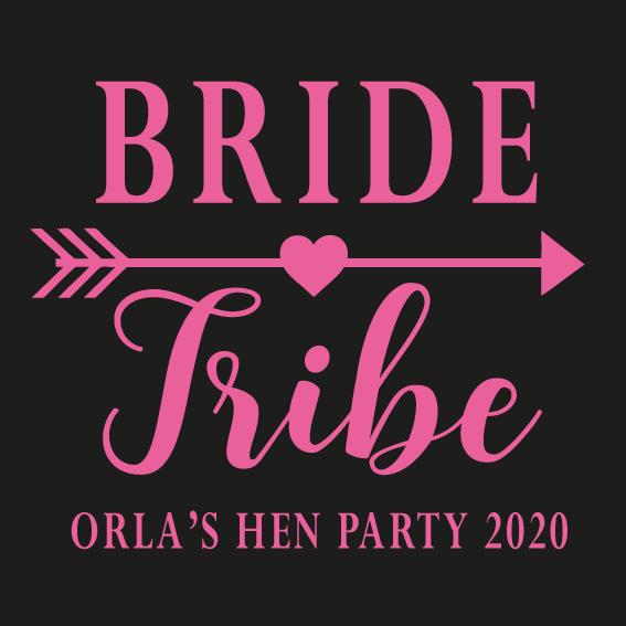 Hens party tshirt - Bride Tribe 2