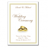 Wedding Mass Booklets - Colour Cover 1