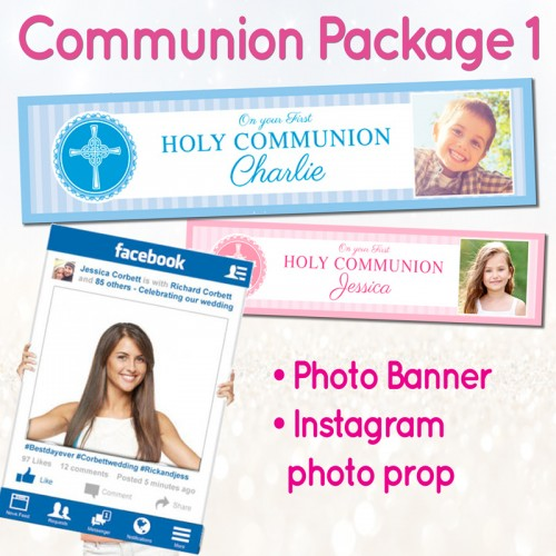 communion confirmation photo banner dublin ireland