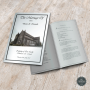 Custom Design Wedding mass booklets