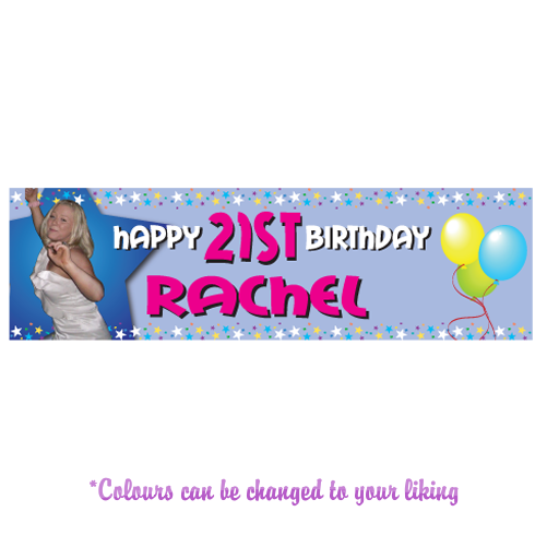 Any Occasion Personalised Banner - Style 3