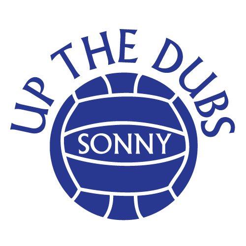 Wall decal - Up the Dubs kids name