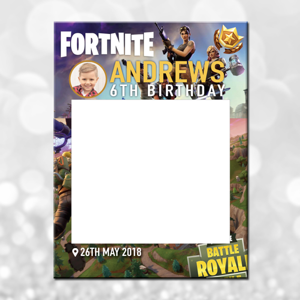 Fortnite photo frame