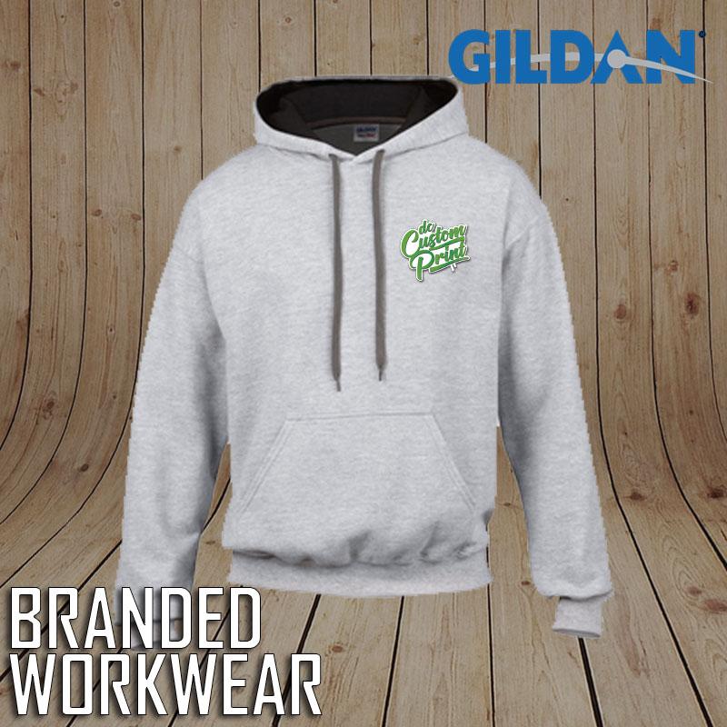 Gildan Heavy Blend Contrast Hooded Sweatshirt