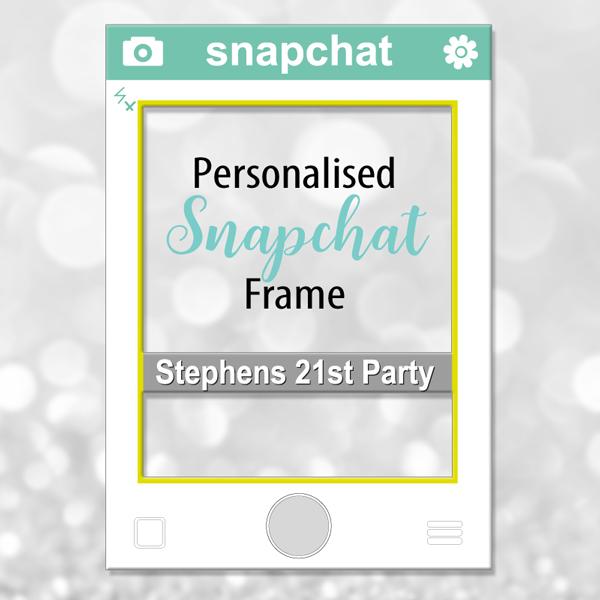 Snapchat Photo Frame
