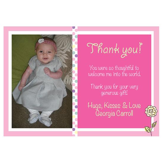 Thank You Card - Girl 1