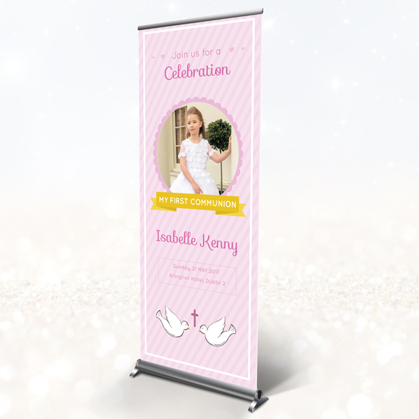 Communion - Confirmation pull up banner - 2