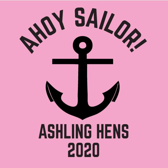 Hens party tshirt - Ahoy Sailor