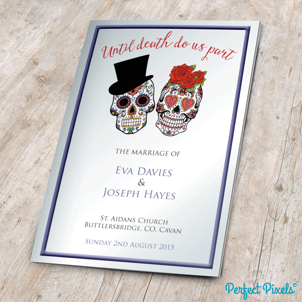 Wedding Mass Booklets - Colour Cover 5