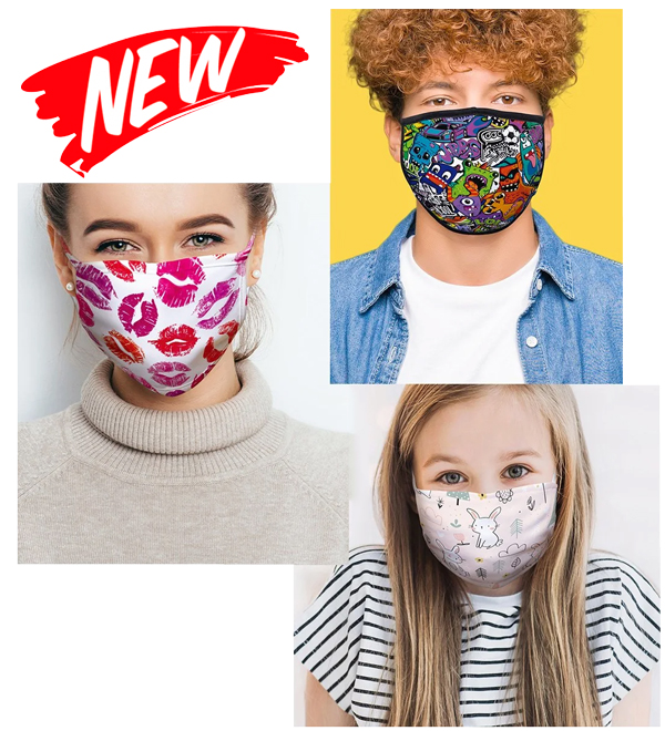 Personalised face covering
